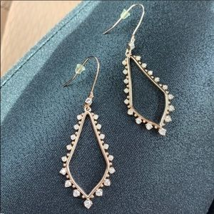 Kendra Scott earrings rosegold